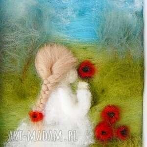 niepowtarzalne pokoik dziecka kwiaty maki