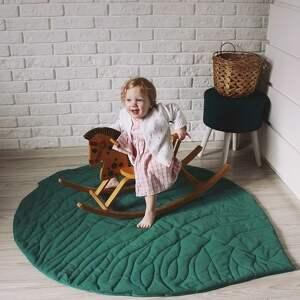 wyjątkowe pokoik dziecka mata do zabawy - liść