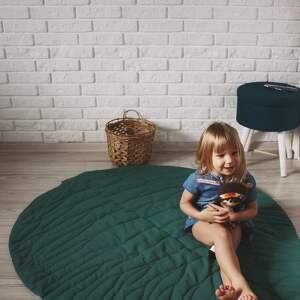 pokoik dziecka dywanik mata do zabawy - liść