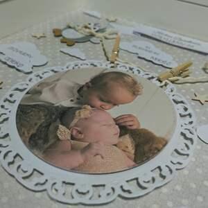 ręcznie robione pokoik dziecka metryczka - dla babci i dziadka