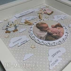 ręcznie robione pokoik dziecka dziadek metryczka - dla babci i dziadka