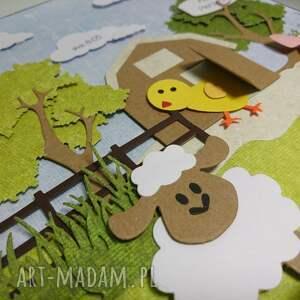 pokoik dziecka metryczka - farma mcdonalda