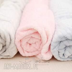 pokoik dziecka koc minky floppy (różowy