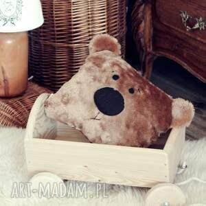 pokoik dziecka miś futerkowa poduszka