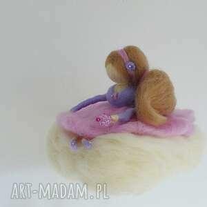 niepowtarzalne pokoik dziecka mobil - różowa wróżka na chmurce