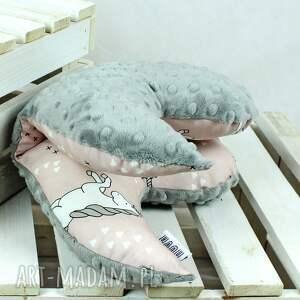 szare pokoik dziecka motylek - poduszka antywstrząsowa