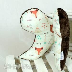 ręcznie wykonane pokoik dziecka motylek - poduszka antywstrząsowa