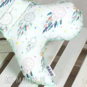zielone pokoik dziecka poduszka motylek- antywstrząsowa