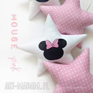 pokoik dziecka girlanda mouse pink