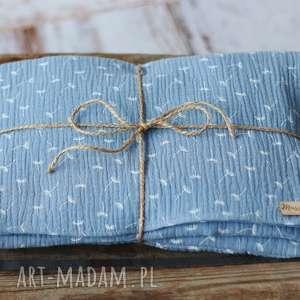 handmade pokoik dziecka otulacz muślinowy z poduszką