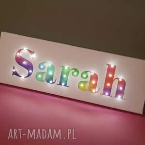 pokoik dziecka prezent napis led neon twoje imię