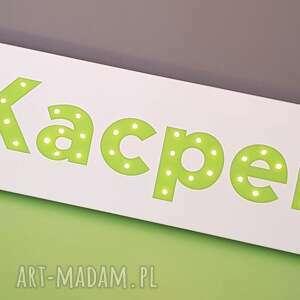 pokoik dziecka led napis led neon twoje imię