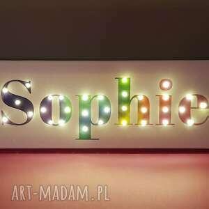 niepowtarzalne napis led neon twoje imię