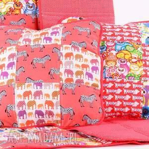 patchwork pokoik dziecka narzuta 88x140cm i 2x