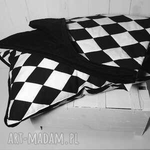 czarno pokoik dziecka narzuta/kołderka do łóżeczka