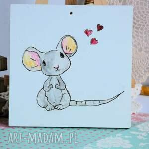 niekonwencjonalne pokoik dziecka obrazek z myszką