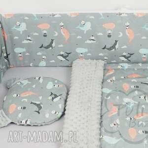ochraniacz do łóżeczka pokoik dziecka