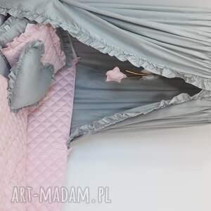 pokoik dziecka ochraniacz do łóżeczka do pikowany