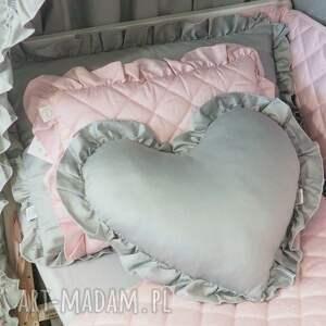 handmade pokoik dziecka ochraniacz do łóżeczka pikowany