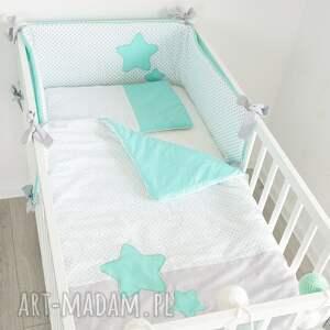miętowy pokoik dziecka ochraniacz do łóżeczka słodkie sny