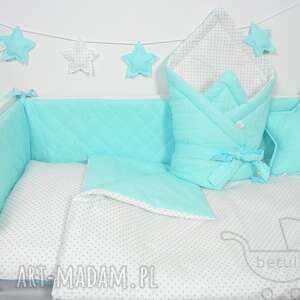 łóżeczka pokoik dziecka ochraniacz do pikowany