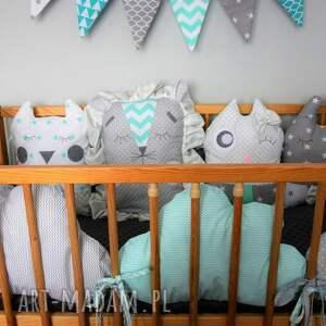 modułowy pokoik dziecka ochraniacz do łóżeczka