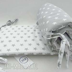 białe pokoik dziecka ochraniacz do łóżeczka scandi
