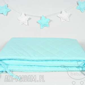 wyjątkowe pokoik dziecka ochraniacz do łóżeczka pikowany
