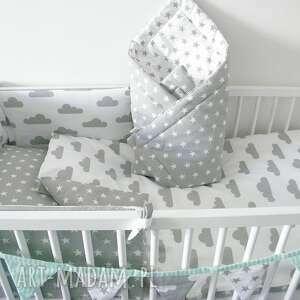 unikalne pokoik dziecka ochraniacz do łóżeczka szare
