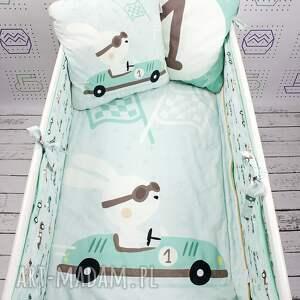 pomarańczowe pokoik dziecka łożeczko ochraniacz na łóżeczko 120x60
