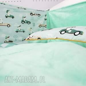ochraniacz pokoik dziecka zielone na łóżeczko 120x60