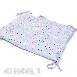 pokoik dziecka organizer do łóżeczka kotki
