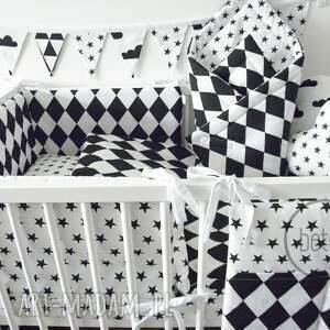 białe pokoik dziecka przybornik organizer na łóżeczko