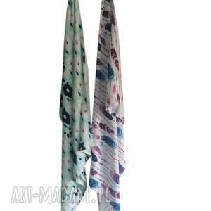 Otulacz bambusowy 70 x 100 cm Miśki