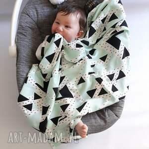 białe pokoik dziecka ręcznik otulacz z tkaniny cv bambusowej