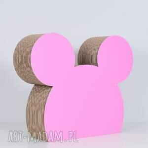 wyraziste ozdoba myszka   różowy