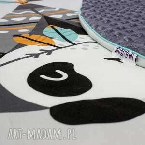 pokoik dziecka lindanie panda welurowa mata do zabawy oraz