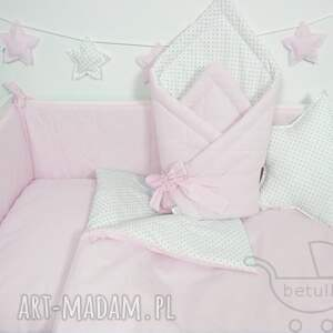pokoik dziecka łóżeczka pikowany ochraniacz do