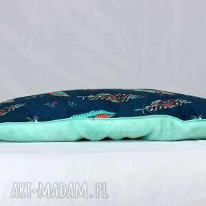 gustowne pokoik dziecka poduszka płaska do łóżeczka pióra