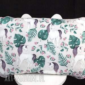pokoik dziecka: Płaska poduszka do łóżeczka jednorożce lozeczka