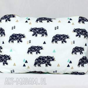 ręcznie zrobione pokoik dziecka poduszka płaska do łóżeczka