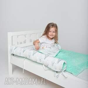 modne pokoik dziecka poduszka płaska minky - m. łapacze