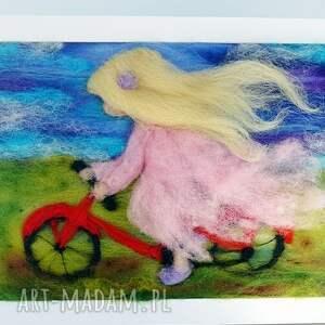 gustowne pokoik dziecka rower pod wiatr. Obraz z kolekcji die