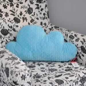 intrygujące pokoik dziecka pluszak poducha chmurka - minky 70 cm