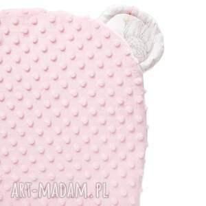 łapacze pokoik dziecka różowe poduszeczka miś