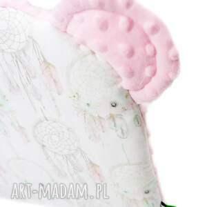 białe pokoik dziecka poduszka poduszeczka miś łapacze