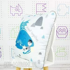wyjątkowe pokoik dziecka poduszka chillout with dragon 46x46