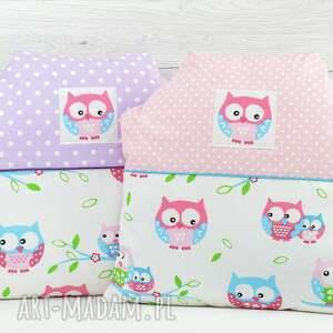 poszewka pokoik dziecka różowe poduszka dwustronna w kształcie domku,uszyta