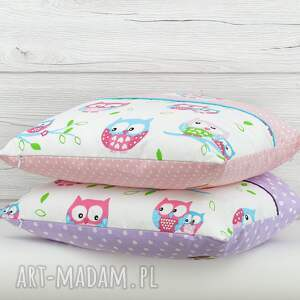 turkusowe pokoik dziecka dekoracja poduszka dekoracyjna