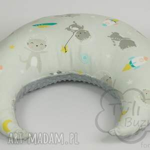 szare pokoik dziecka rogal do karmienia poduszka do w kotki